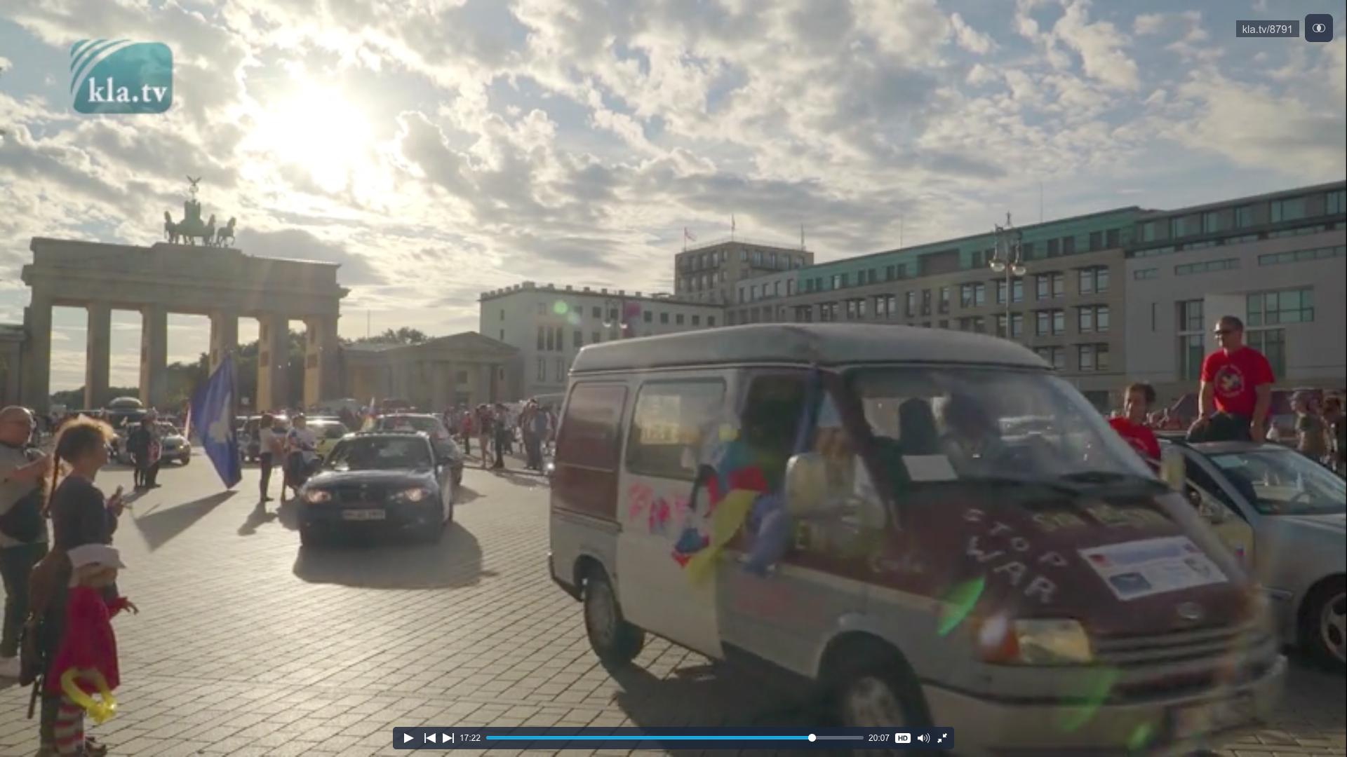 Friedensfahrt Berlin Moskau