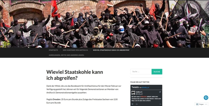 antifa-website