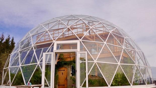kuppel-haus-Architektur
