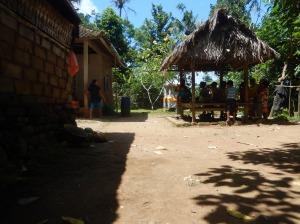 Bali Gespräch Dach