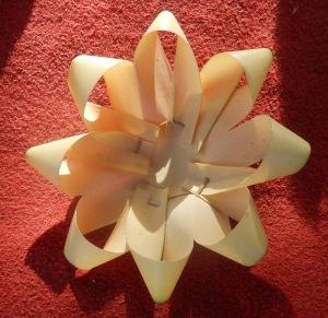 Bali Blume Verzierung Ritual