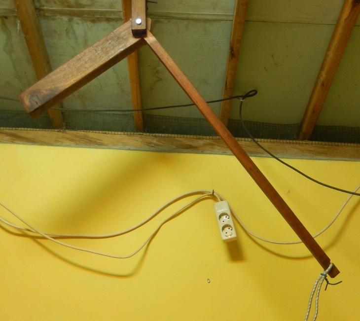 Bügeln Kabel Schwerkraft