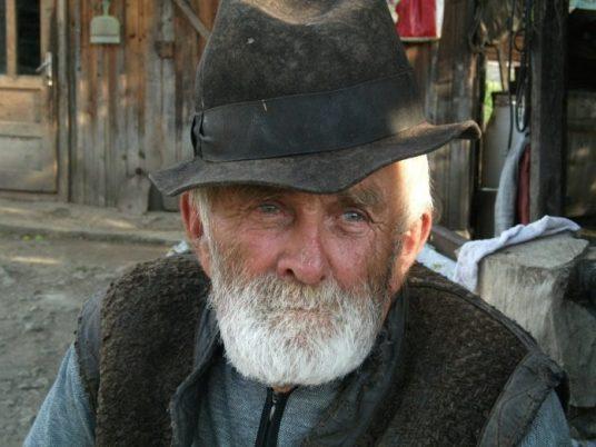Bauer Landwirt Dem Heimhofbauern sein Knecht