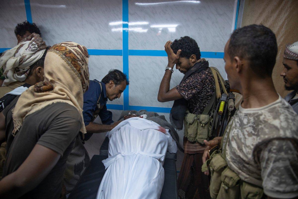 Jemen / Der verschwiegene Krieg // This is the front line ofSaudi Arabia'sinvisible war