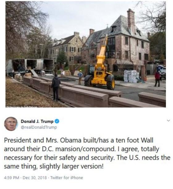 trump-obama-wall-tweet