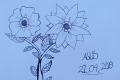 Henry Hafenmayer Blume Gemälde Bild Agus Zeichnung