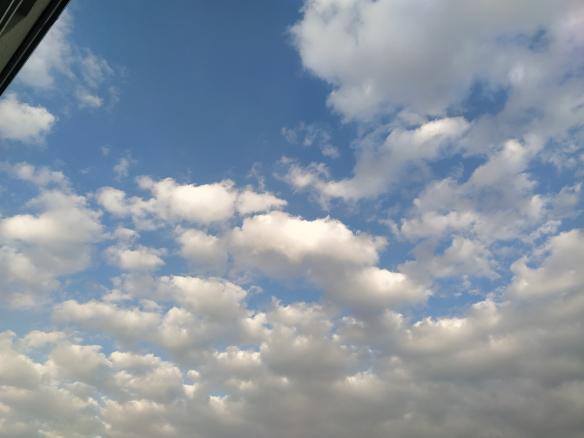 Mit Hilfe von Corona: Endlich wieder echten Himmel!